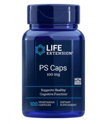 Life Extension, PS Caps, 100 mg, 100 Veggie Caps