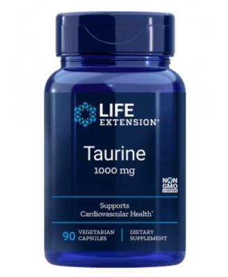 Taurine 1000 mg (90 vegetarian capsules) - Life Extension