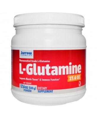 Jarrow Formulas, L-Glutamine, 17.6 oz (500 g) Powder