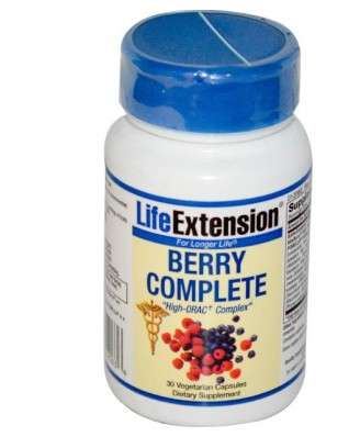 Berry Complete (30 Veggie Caps) - Life Extension