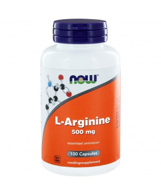 L-Arginine 500 mg (100 caps) - NOW Foods