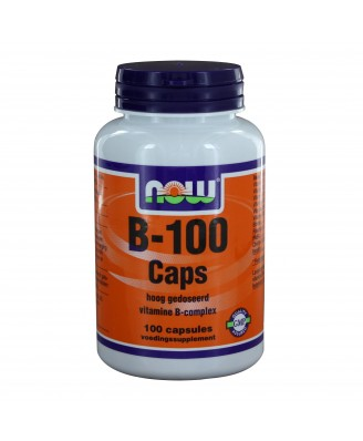 B-100 Caps (100 caps) - NOW Foods