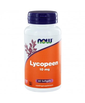 Lycopeen 10 mg (60 softgels) - NOW Foods