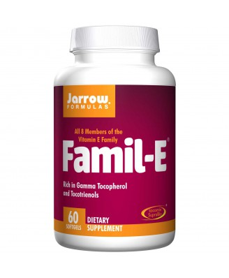 Famil-E (60 Softgels) - Jarrow Formulas