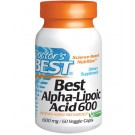 Alfa Lipon Zuur, 600 mg (60 vegetarische capsules) - Doctor's Best