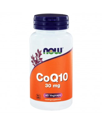 CoQ10 30 mg (60 vegicaps) - NOW Foods