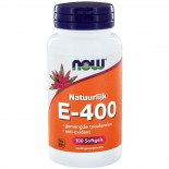 E-400 gemengde tocoferolen (100 softgels) - NOW Foods