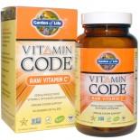 Vitamin Code - Raw Vitamin C (120 Vegetarian Capsules) - Garden of Life