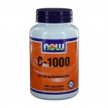 C-1000 Caps met 100 mg Bioflavonoïden (100 caps) - NOW Foods