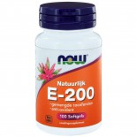 E-200 gemengde tocoferolen (100 softgels) - NOW Foods