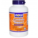 Now Foods, Candida Support, Intestinal Health, 180 Veggie Caps