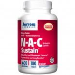 Jarrow Formulas, N-A-C Sustain, N-Acetyl-L-Cysteine, 600 mg, 100 Tablets