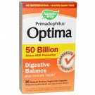 Nature's Way, Primadophilus Optima, Digestive Balance, 50 Billion, 30 Delayed Release Veggie Caps