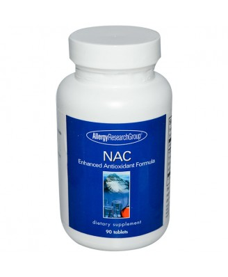 NAC Enhanced Formula 90 Tablets - Allergy Research Group