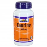 Taurine 500 mg (100 capsules) - Now Foods