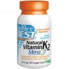 Natuurlijke vitamine K2 Mena Q7, 45 mcg (180 Veggie Caps) - Doctor's Best
