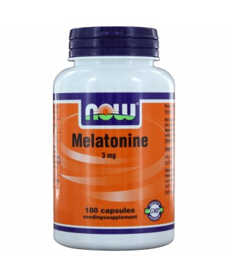 Melatonine 3 mg (180 caps) - NOW Foods
