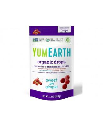 YumEarth, Organic Vitamin C Drops, Anti-Oxifruits, 3.3 oz (93.5 g)