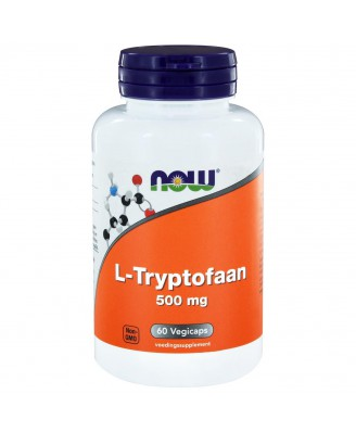 L-Tryptofaan 500 mg (60 veggie caps) - Now Foods