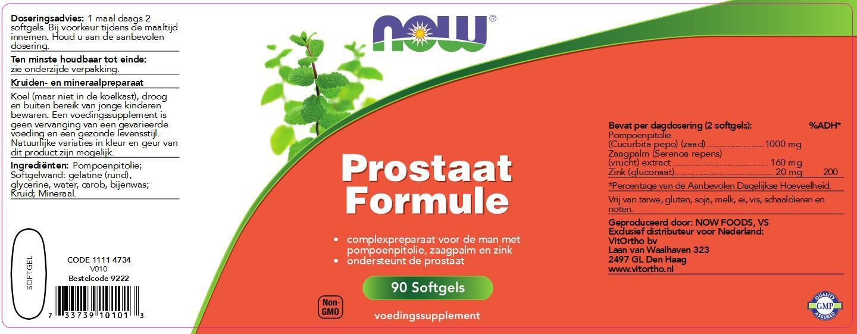 prostaat melk