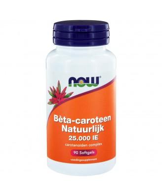 Bèta-caroteen Natuurlijk (90 softgels) - NOW Foods
