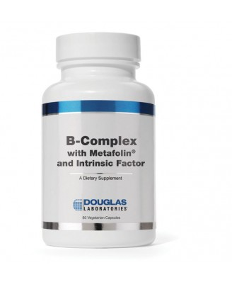B-complex w/Metafolin ® en intrinsieke Factor (60 vegetarische caps) - Douglas laboratories