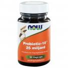 Probiotic-10™ 25 miljard (50 vegicaps) - NOW Foods