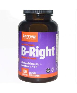 Jarrow Formulas, B-Right, 100 Veggie Caps