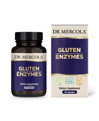 Gluten Support Enzymes (30 Capsules) - Dr. Mercola