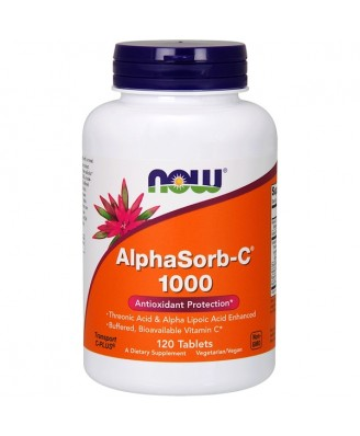 Now Foods, AlphaSorb-C 1000, 120 Tablets