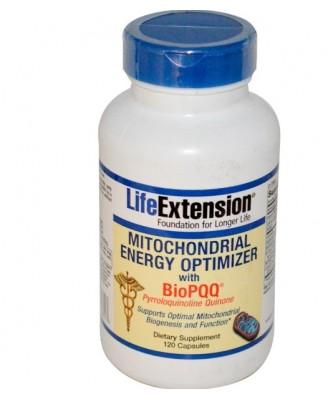Mitochondriale Energie Optimizer met BioPQQ (120 Capsules) - Life Extension
