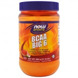 BCAA Big 6- Natural Watermelon Flavor (600 gram) - Now Foods