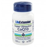 Super Ubiquinol CoQ10 with Enhanced Mitochondrial Support 100 mg (60 softgels) - Life Extension