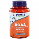 BCAA 800 mg (Branched Chain Amino Acids) (120 caps) - NOW Foods