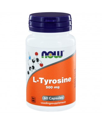 L-Tyrosine 500 mg (60 caps) - NOW Foods