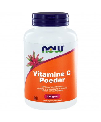 Vitamine C Poeder ascorbinezuur  (227 gram) - NOW Foods