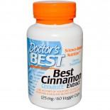 Best Cinnamon Extract 125 mg (60 Veggie Caps) - Doctor's Best