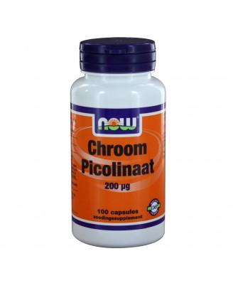 Chroom Picolinaat 200 μg (100 caps) - NOW Foods