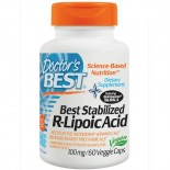 Doctor's Best, Best Stabilized R-Lipoic Acid, 100 mg, 60 Veggie Caps