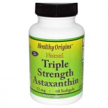 Astaxanthin 12 mg (60 Softgels) - Healthy Origins