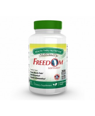 Freedom Softgels (60 Softgels) - Health Thru Nutrition