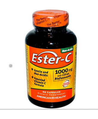 Ester-C met Citrus-bioflavonoïden 1000 mg (90 Capsules) - American Health