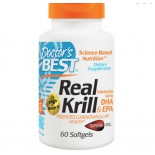 Real Krill Enhanced with DHA & EPA (60 Softgels) - Doctor's Best