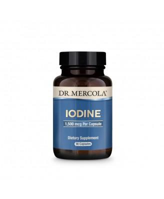Iodine 1500 mcg (90 Capsules) - Dr. Mercola