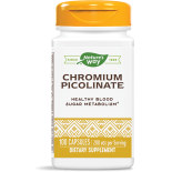 CHROMIUM PICOLINATE 200 MCG (100 CAPSULES) - NATURE'S WAY