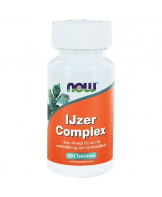 IJzer Complex (100 tabs) - NOW Foods