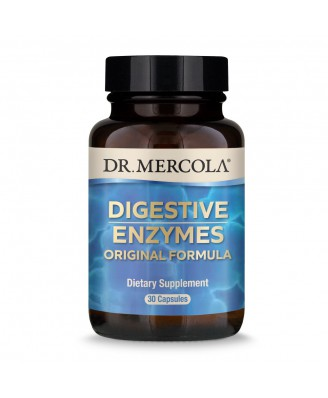 Dr. Mercola, Digestive Enzymes, 30 Capsules