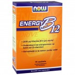 Energy B12 2000 ?g (75 sachets) - NOW Foods