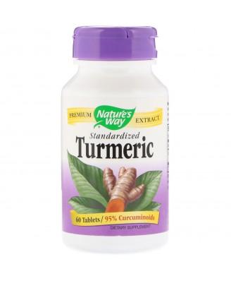Nature's Way, Turmeric, Standardized, 60 Tablets