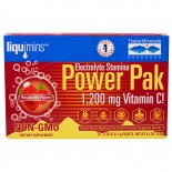 Liquimins, Power Pak, Electrolyte Stamina, Raspberry (30 Packets, 5.1 g Each) - Trace Minerals Research